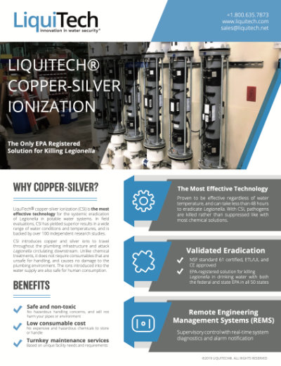 Copper Silver Ionization brochure download thumbnail