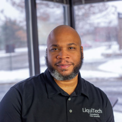 Photo of Tony Cook of LiquiTech